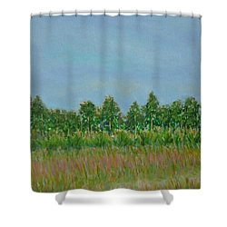 Prairie Morning Light Shower Curtain