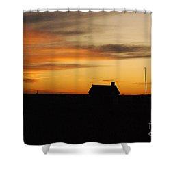 Prairie Sunset Shower Curtain by Mary Carol Story