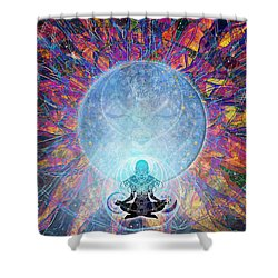 Prana Shower Curtain by Kenneth Armand Johnson