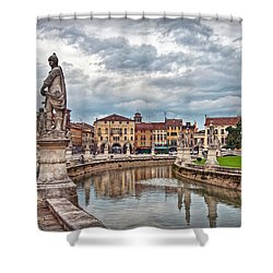 Prato Della Valle Shower Curtain