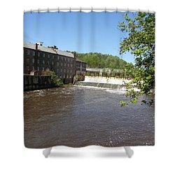 Pratt Cotton Factory Shower Curtain by Caryl J Bohn