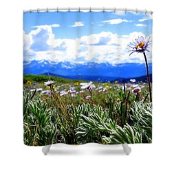 Shower Curtain featuring the photograph Prayer Of Thanksgiving by Karen Shackles