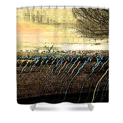 Pre Dawn Life Shower Curtain