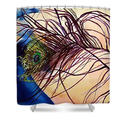 Preening For Attention Sold Shower Curtain by Lil Taylor