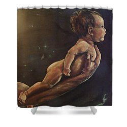 Presenting Life Shower Curtain