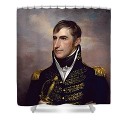 President William Henry Harrison Shower Curtain by War Is Hell Store