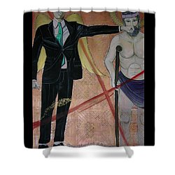Presidential Advisers Shower Curtain