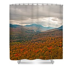 Presidential Colors Shower Curtain by Brenda Jacobs