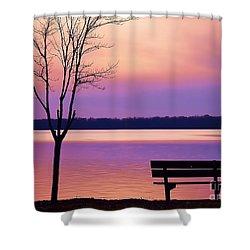 Presque Isle Solitude 11.12.12 Shower Curtain