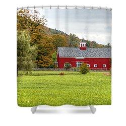 Prettiest Barn In Vermont Shower Curtain