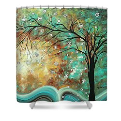 Pretty As A Picture By Madart Shower Curtain by Megan Duncanson