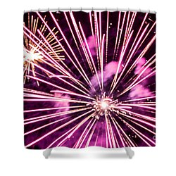 Shower Curtain featuring the photograph Pretty In Pink by Suzanne Luft