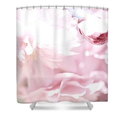Pretty In Pink - The Sweet One Shower Curtain by Lisa Parrish