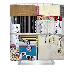 Pretty Little Things Shower Curtain by Michel Keck