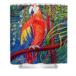 Pretty Polly Shower Curtain
