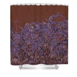 Pretty Tree Shower Curtain by Carol Lynch