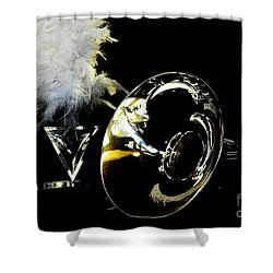 Shower Curtain featuring the photograph Pride Performance by Michelle Frizzell-Thompson