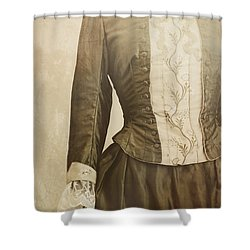 Prim And Proper Shower Curtain by Amy Weiss