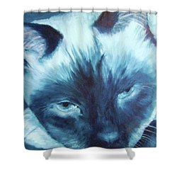 Prima Donna, Cat Shower Curtain