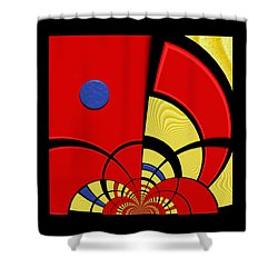Primary Motivations 3 Shower Curtain