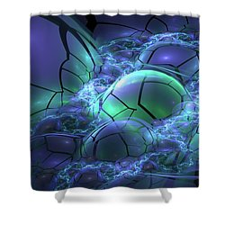 Primordial Soup  Shower Curtain