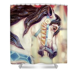 Prince Charming Shower Curtain by Amy Tyler