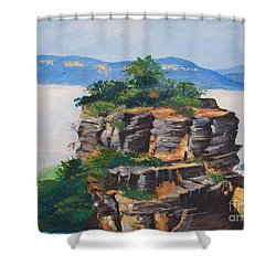 Prince Henry Cliff Australia Shower Curtain
