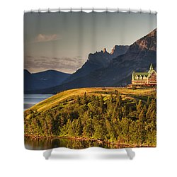 Prince Of Wales Sunrise Shower Curtain