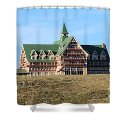 Shower Curtain featuring the photograph Prince William Hotel by Ann E Robson