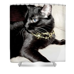 Shower Curtain featuring the photograph Princess Lucy by Pennie  McCracken