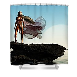 Princess Of Mars... Shower Curtain