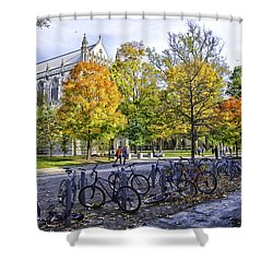 Princeton University Campus Shower Curtain