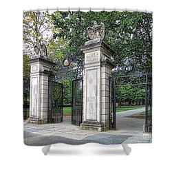 Princeton University Main Gate Shower Curtain
