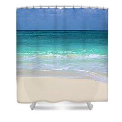 Pristine Beach Cancun Shower Curtain