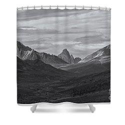 Pristine Valley Shower Curtain by Priska Wettstein