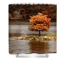 Private Island Shower Curtain by Jai Johnson