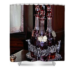 Private Stock Shower Curtain by Kristin Elmquist