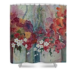 Profusion Shower Curtain by Lee Beuther