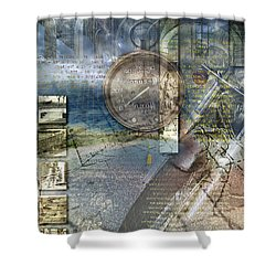 Progressions Shower Curtain