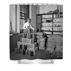 Prohibition 1920s Shower Curtain by Granger