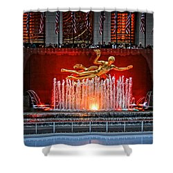 Shower Curtain featuring the photograph Prometheus by Mike Martin