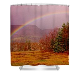 Promise And Hope Cape Breton Shower Curtain by John Malone