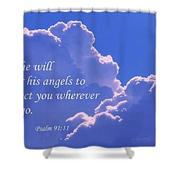 Promise Of Protection Shower Curtain