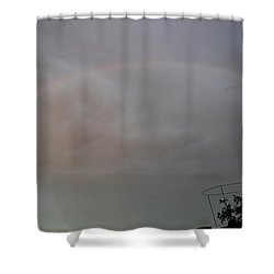 #promisespromises Shower Curtain by Becky Furgason