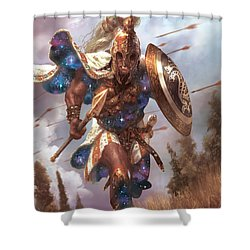 Promo Soldier Token Shower Curtain