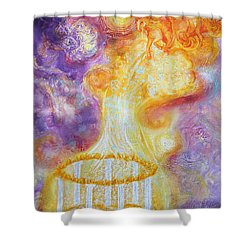 Prophetic Ms 34 New Leader Treasure Restored Shower Curtain