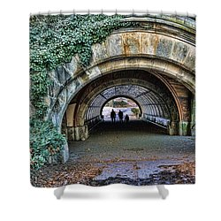 Prospect Park Passage - Brooklyn Shower Curtain