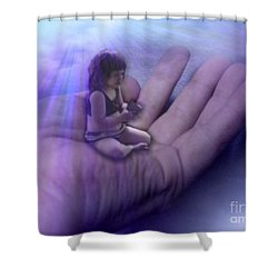 Protect Their Souls Shower Curtain