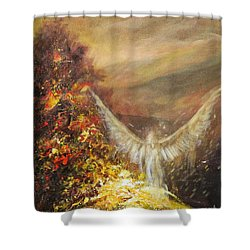 Protecting Mother Earth Shower Curtain