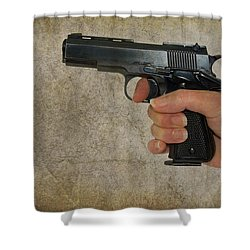 Protecting Your Home Shower Curtain by Charles Beeler